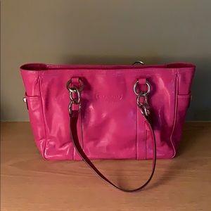 NEVER USED - Coach Hot Pink Handbag